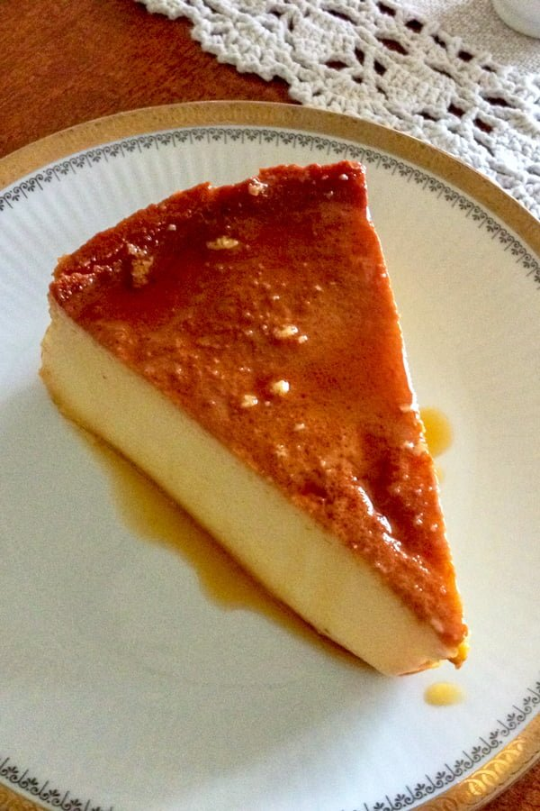 Mexican Flan De Queso-Cream Cheese Flan recipe makes a great and quick dessert for a scrumptious grand finale of a dinner with friends or family.