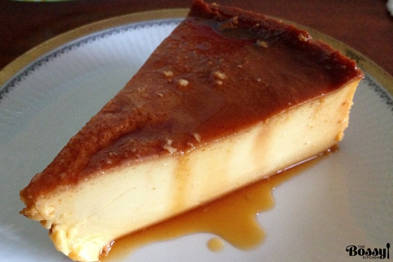 Flan De Queso Cream Cheese Flan3