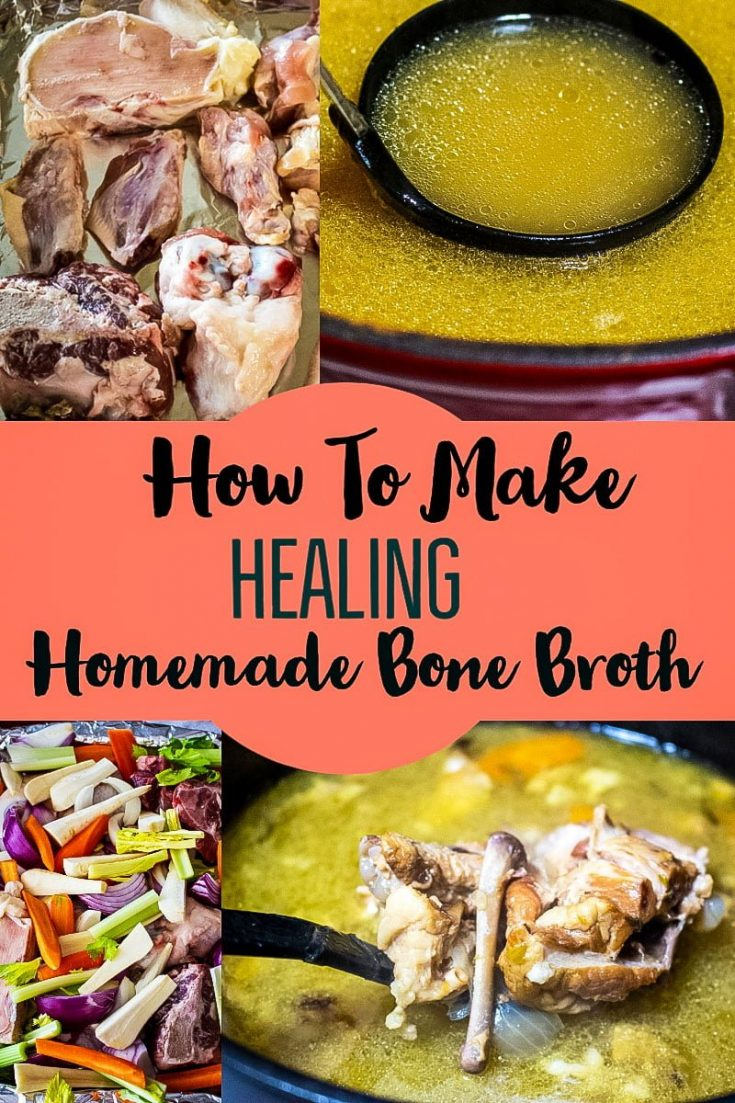 How to make homemade bone broth like your grandma used to make- nutritious and delicious, a great tool for healing, used for centuries all over the world.