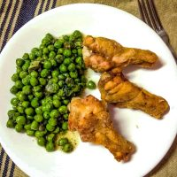 Super Easy Green Peas with Mint Recipe