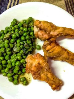 Super Easy Green Peas with Mint Recipe11