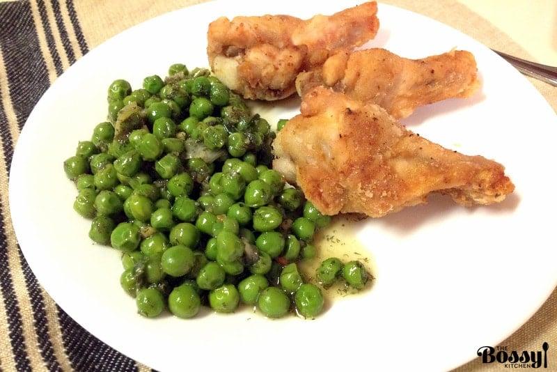 Super Easy Green Peas2