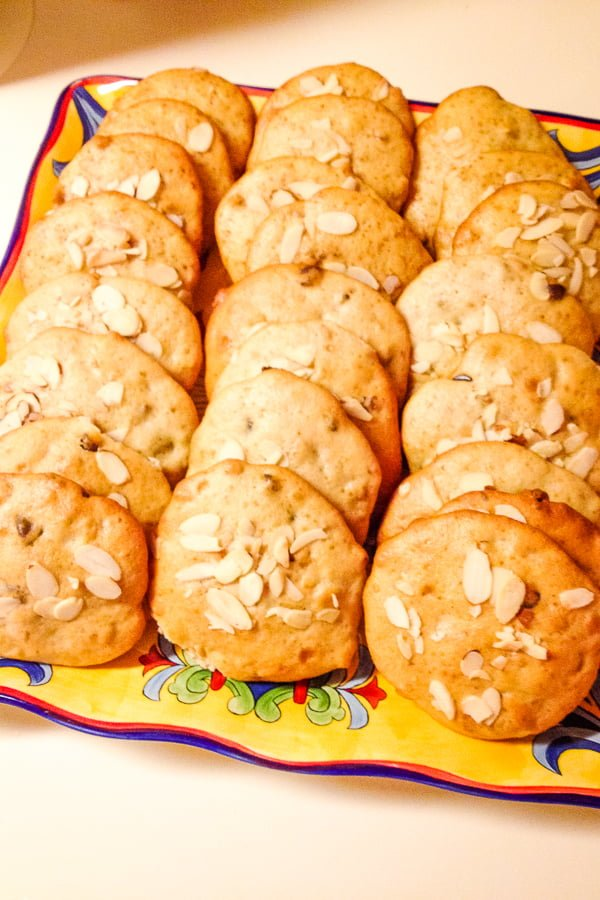 Banana Walnuts Chocolate Chips Soft Cookies- delicious banana cookies that are soft and chewy. Perfect to snack on or for the lunch box.