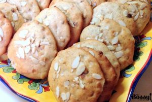 Banana Walnuts Chocolate Chips Soft Cookies