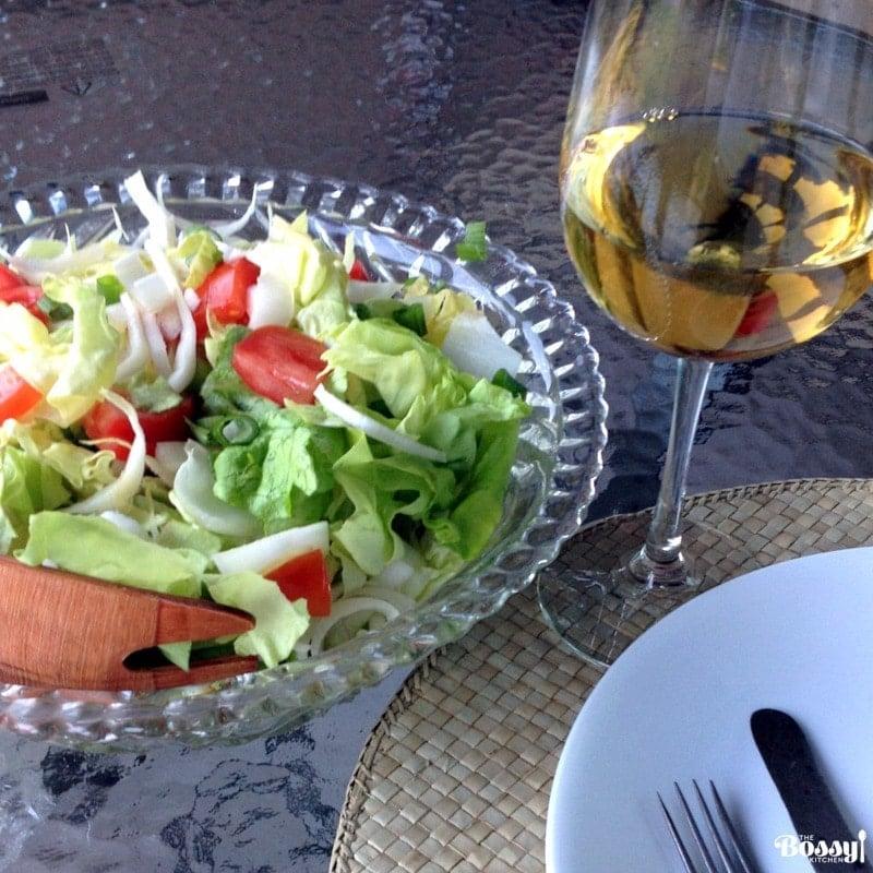 Belgian Endives Boston Lettuce Salad