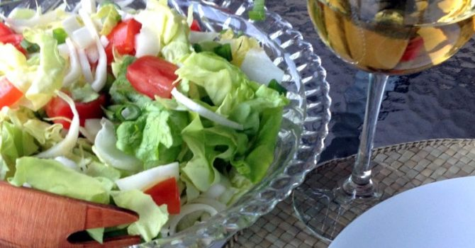 Belgian Endives Boston Lettuce Salad