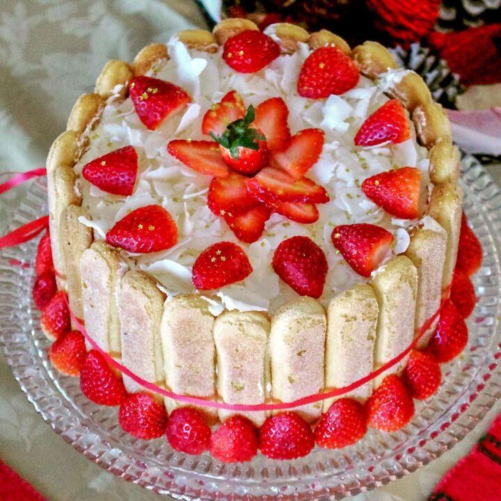 Charlotte Russe Cake Classic European Recipe