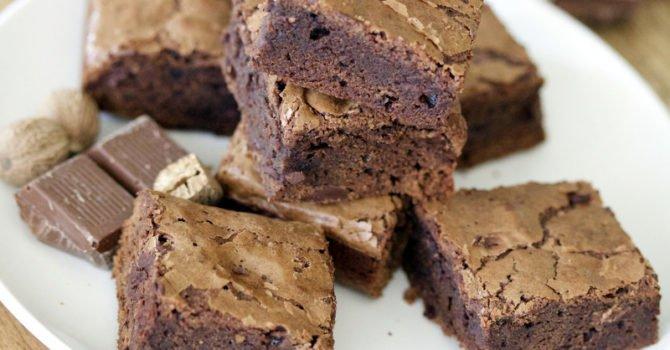 Coffee And Cinnamon Brownies Recipe