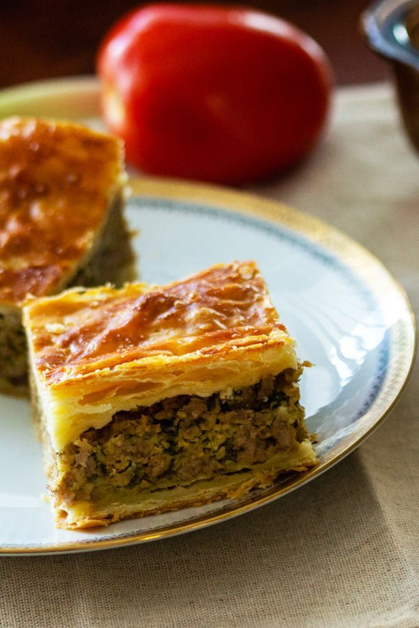 Easter Puff Pastry Minced Meat Pie Recipe0
