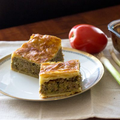 Easter Puff Pastry Minced Meat Pie Recipe