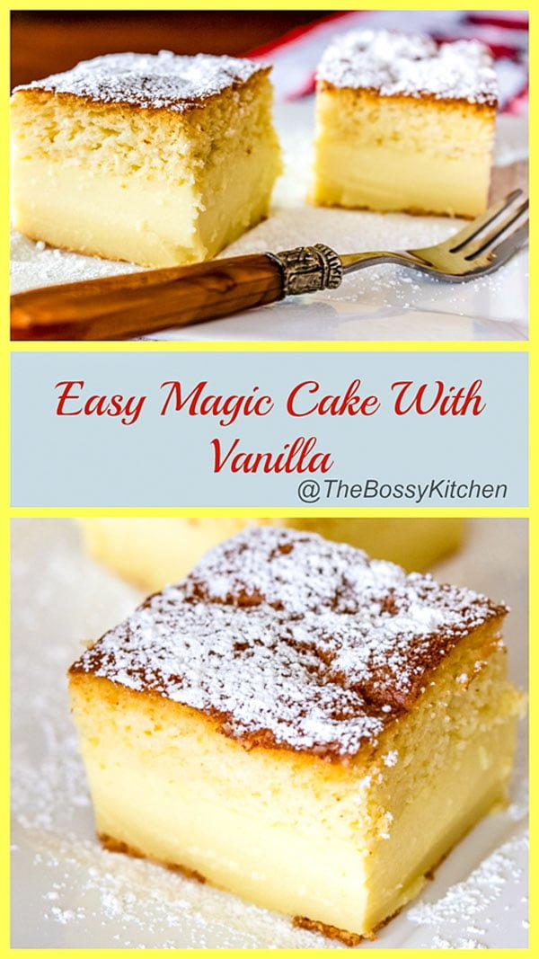 Easy Magic Cake With Vanilla22