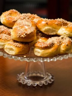 Mucenici A Traditional Romanian Honey And Walnuts Pastry 1