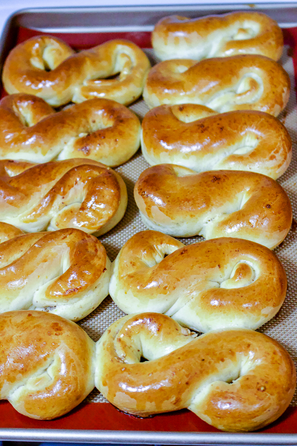 Mucenici- a traditional Romanian honey and walnuts pastry is a recipe made only once a year on March 9th as a celebration of the Forty Martyrs of Sebaste.