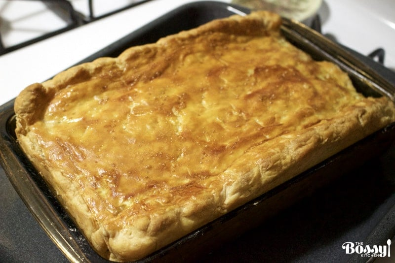 Perfect Easter Puff Pastry Minced Meat Pie Recipe