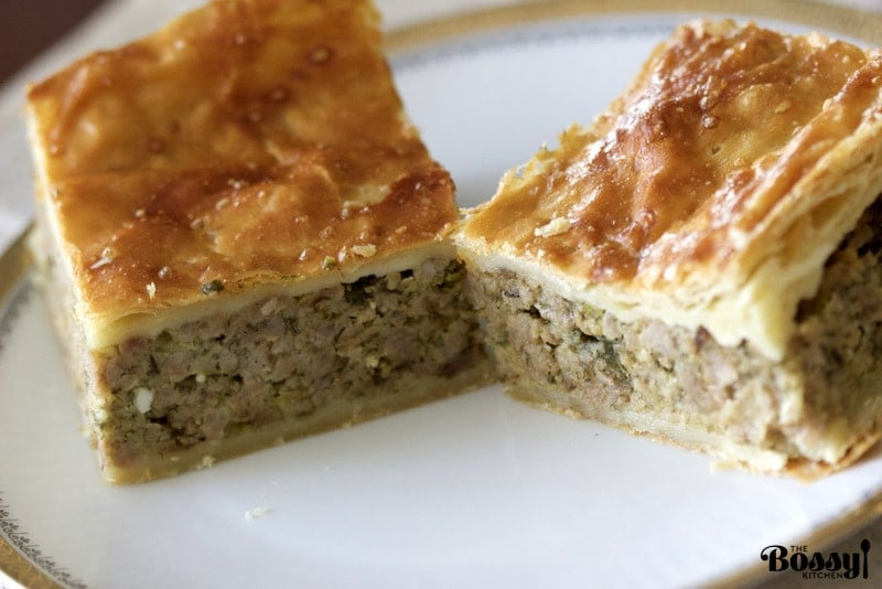 Puff Pastry Minced Meat Pie11