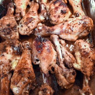Roasted Lemon Chicken Drumsticks Recipe