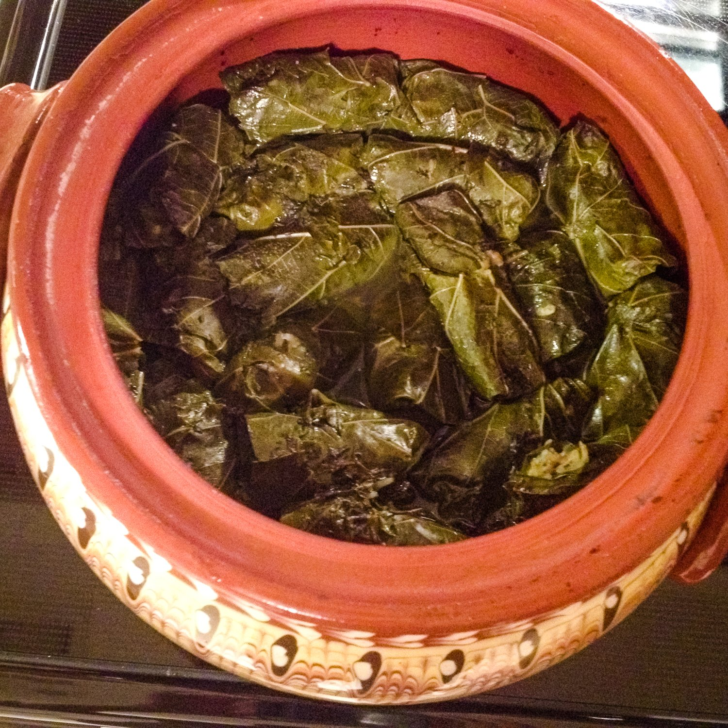 Romanian Stuffed Grape Leaves-Dolmades - meat and rice stuffed grape leaves, a popular recipe in many parts of the world. Delicious and easy to make.