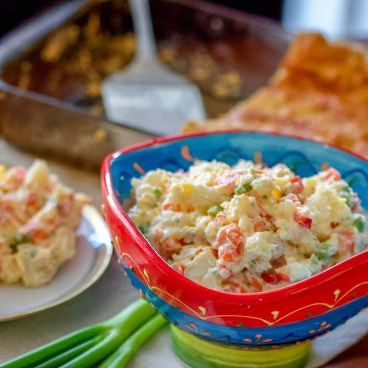 Spanish Potato Salad (Ensaladilla Rusa)- A Spanish Favorite