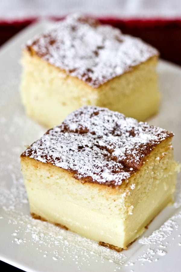 Vanilla Magic Custard Cake is an easy dessert that could be perfect for a potluck or a party. One batter, three layers of Heaven! It is easy to make, because all the magic happens in the oven during the baking process, when the batter separates in three layers of goodness. Enjoy!
