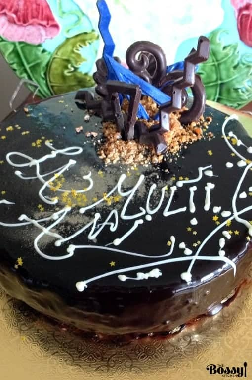 Chocolate mousse and praline entremet is a delicious, silky recipe that would fit a special celebration in your family. Use quality ingredients for success.#entremet #cake #chocolate #recipes