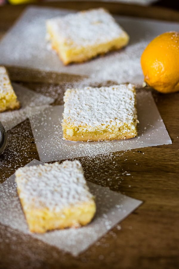 Coconut-Almond Lemon Bars Recipe is a tasty, twisted version of the traditional lemon bars. The combination of coconut, lemon and almond is a perfect one.
