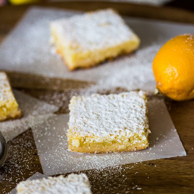 Coconut-Almond Lemon Bars Recipe