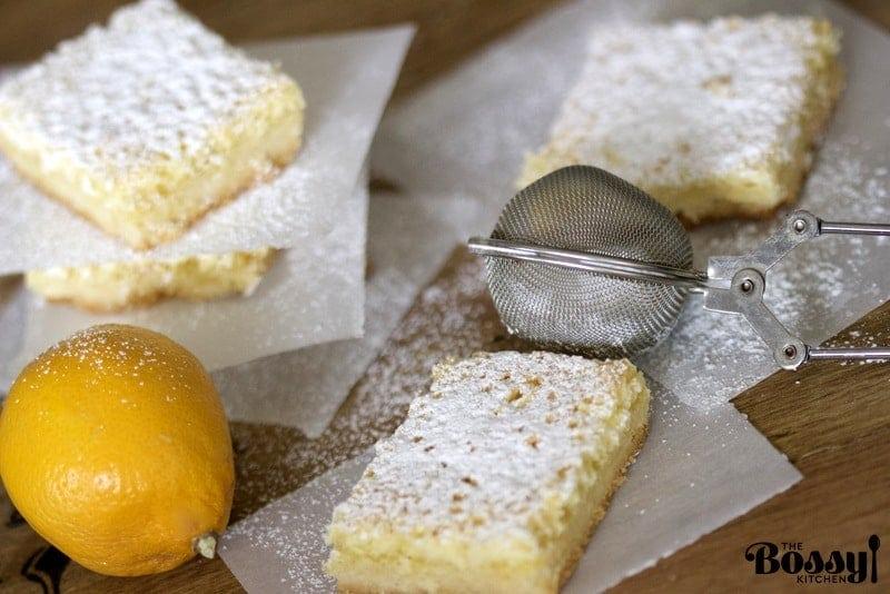 Coconut Almond Lemon Bars