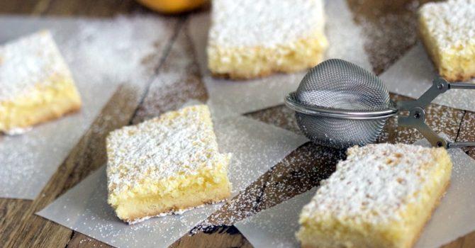 Coconut-Almond Lemon Bars Recipe