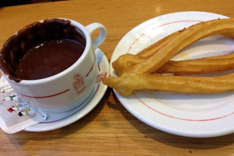 Hot Chocolate Spanish Style