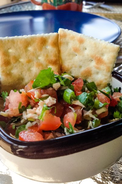 Pico De Gallo With Tuna Traditional Mexican Recipe3
