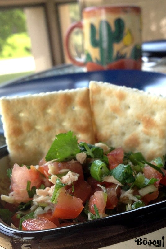 Pico De Gallo with Tuna Traditional Mexican Recipe18