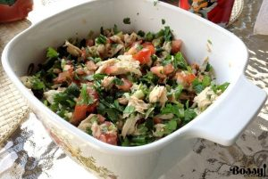Pico De Gallo With Tuna-Traditional Mexican Recipe