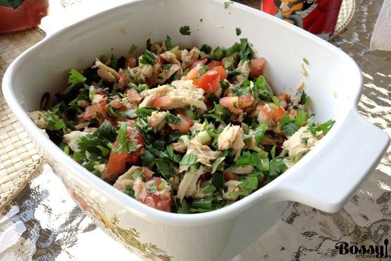 Pico De Gallo With Tuna Traditional Mexican Recipe19
