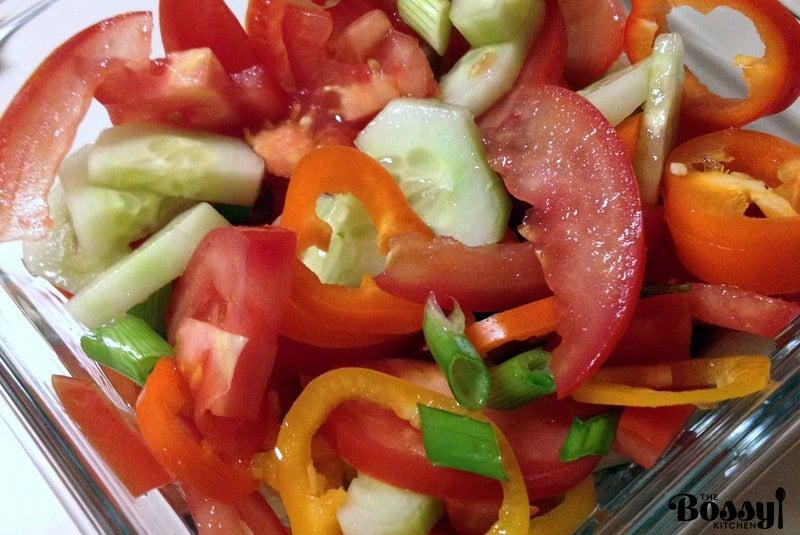 Quick Tomato Summer Salad