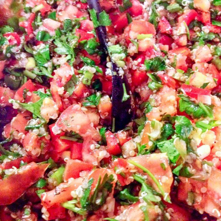 Quinoa Tabbouleh Salad - A Summer Delight