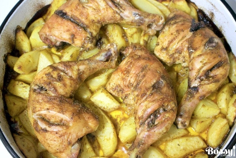 Roasted Chicken And Potatoes4