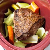 How To Make A Classic Chuck Roast with Vegetables in a Crock Pot