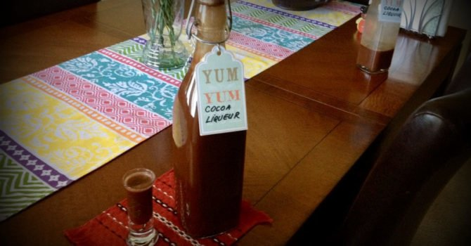 Easy Cocoa Liqueur Recipe
