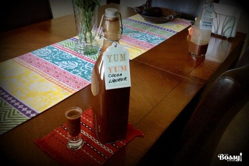 Easy Cocoa Liqueur Recipe