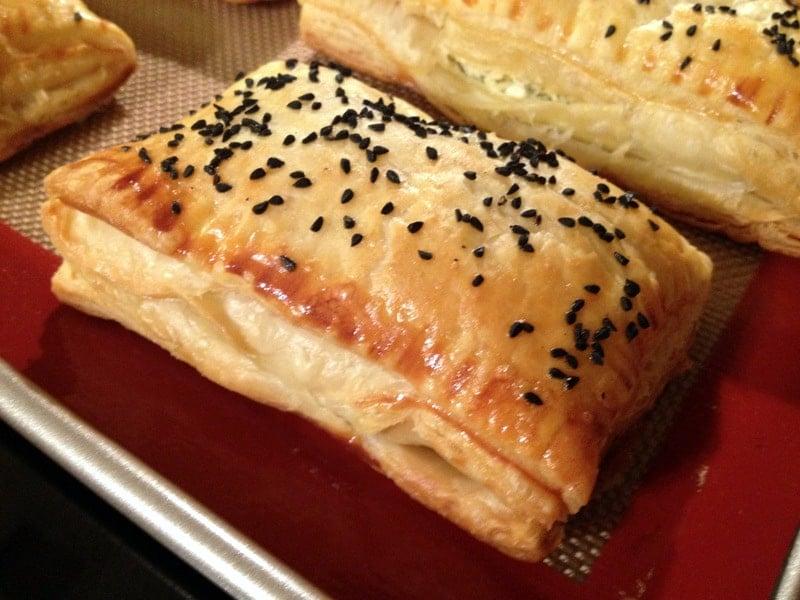 Feta And Black Caraway Pastries
