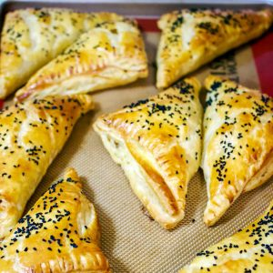 Savory Feta And Black Caraway Pastries