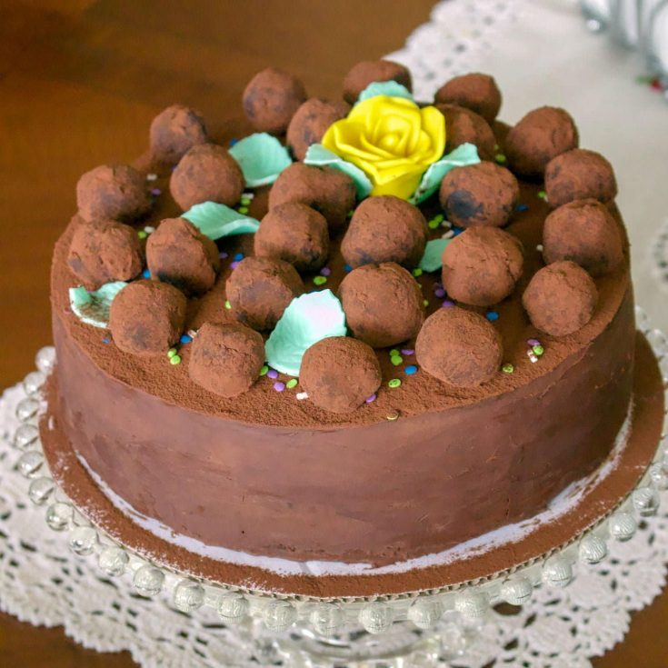 Gourmet Chocolate Mint Cake