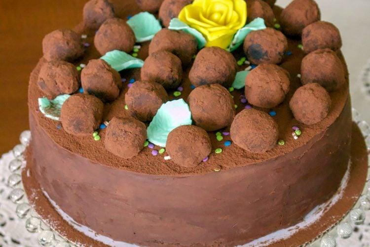 Gourmet Chocolate Mint Cake Recipe