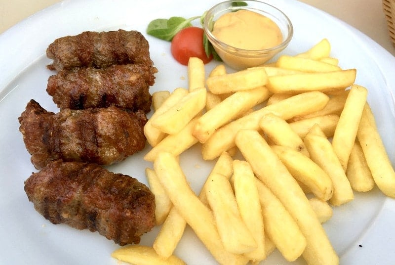 MITITEI  Romanian Grilled Sausages