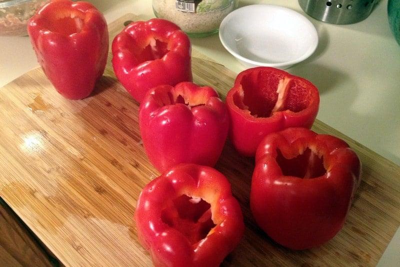 Stuffed peppers ardei umpluti the bossy kitchen - Best romanian pepper cultivars ...