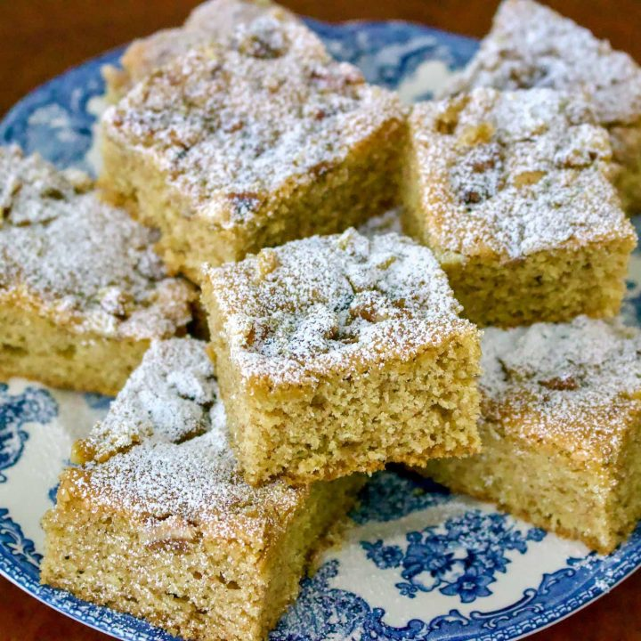 Walnuts And Cinnamon Coffee Cake- A Saxon Old Recipe From Transylvania
