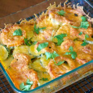 Baked Zucchini Tomato and Mozzarella Casserole 2