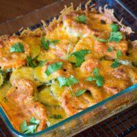 Baked zucchini tomato and mozzarella casserole44