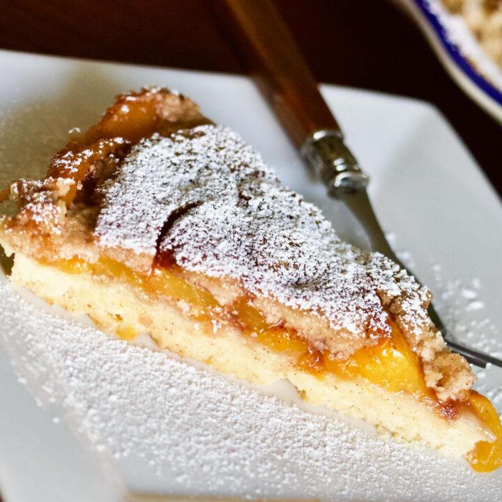 Best Peach Kuchen slice square photo0