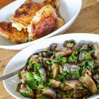 Mexican Chipotle Mushrooms